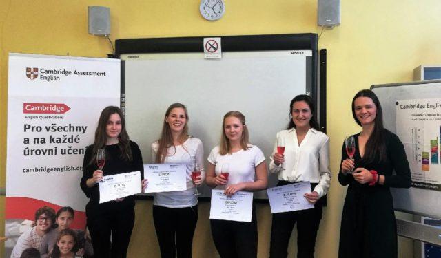 Ocenění v angličtině pro studentky GDK