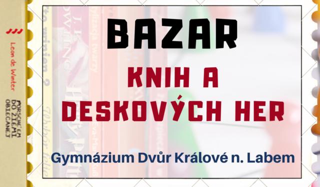 Bazar knih a deskových her na GDK