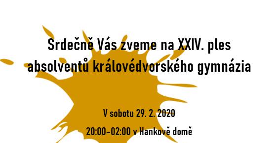 Ples absolventů GDK