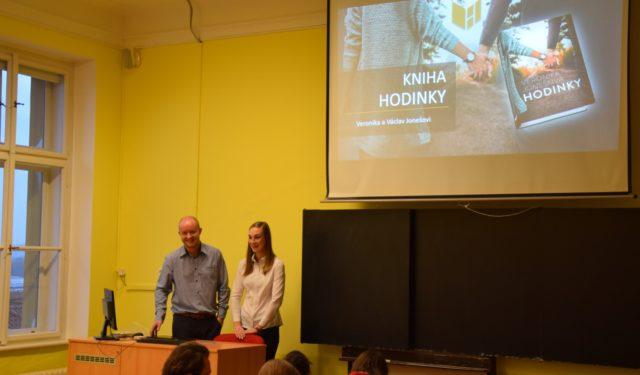 Hodinky s Veronikou Jonešovou :-)