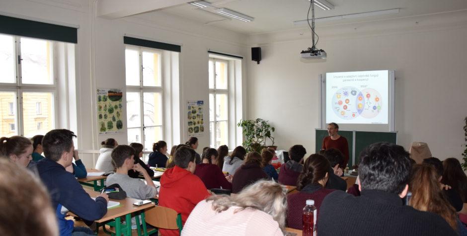 Vědci z Univerzity Karlovy vzdělávali biologické nadšence