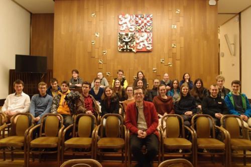 Gymnazisté v parlamentu 2019