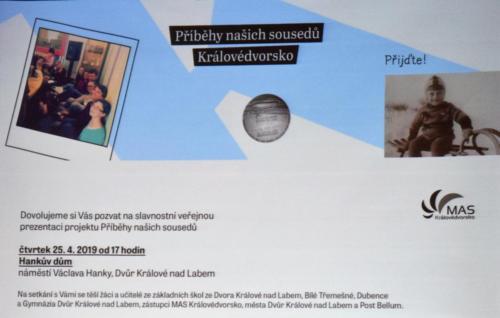 GDK na prezentaci Příběhů našich sousedů